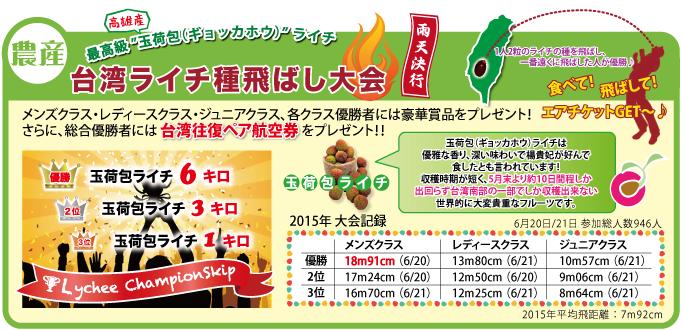 台湾フェス記録