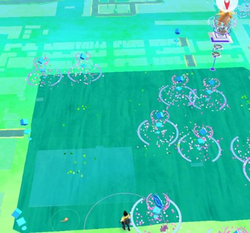 錦糸公園ポケモンGOマップ