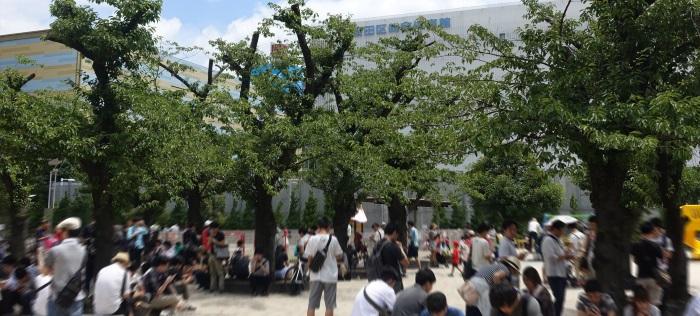 ポケモンGO昼の錦糸公園