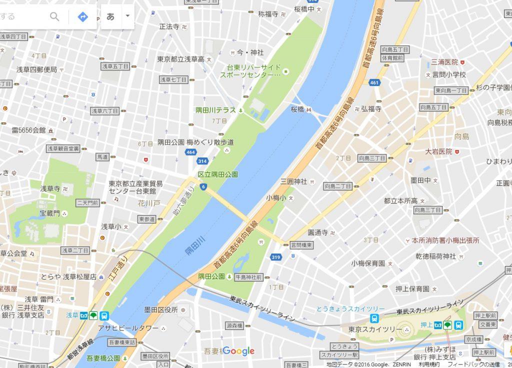 墨田公園マップ