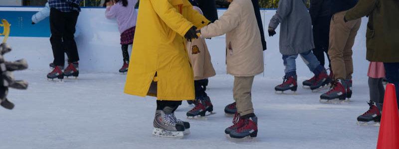 アイススケートパーク2019日、