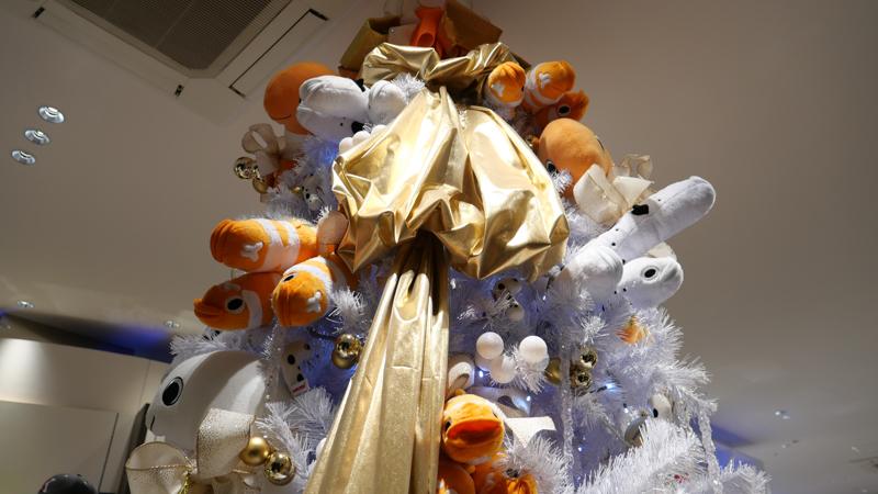 チンアナゴクリスマスツリー