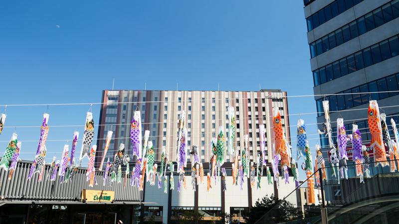 ソラマチひろば 東京スカイツリータウン こいのぼりフェスティバル