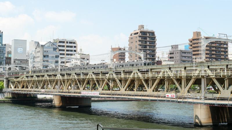 墨田橋梁歩道橋