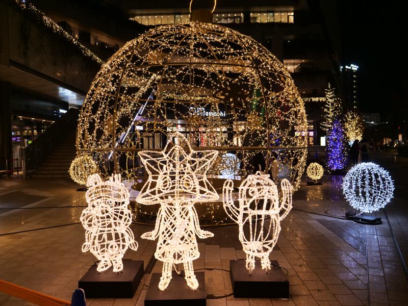 クリスマスライティング