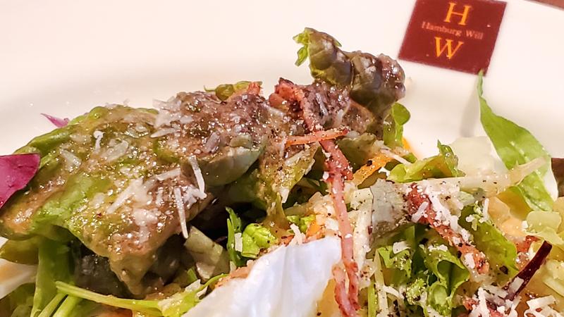 ハンバーグ WILL 錦糸町 サラダ