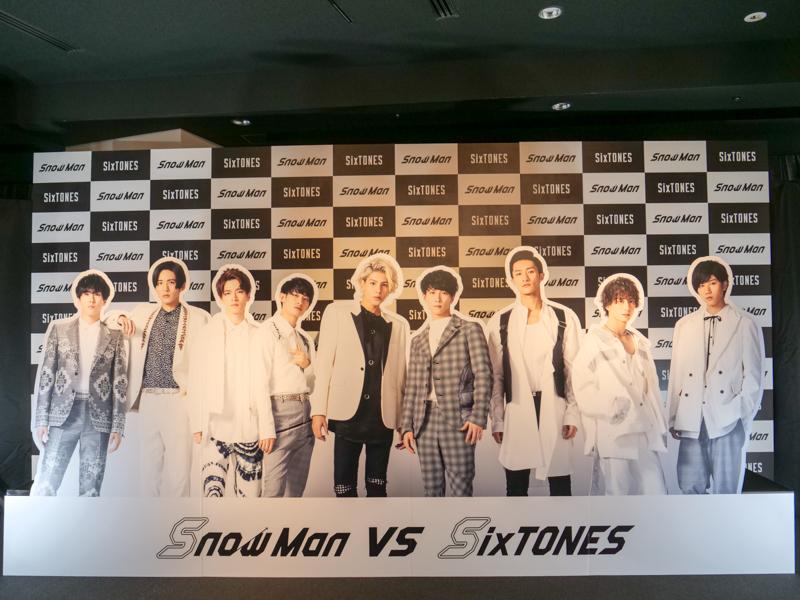 SixTONES・Snow Man スカイツリーコラボ