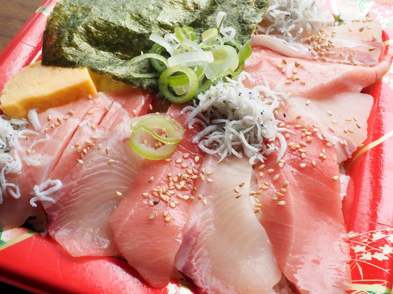 ニダイメ野口鮮魚店 ソラマチ 丼